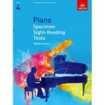 ABRSM Grade 4 Piano Specimen Sight-Reading Tests