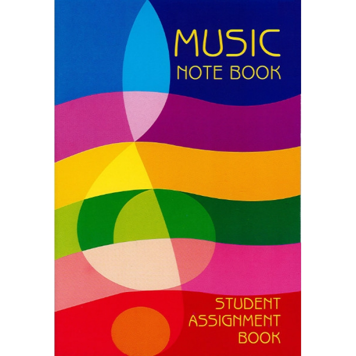 music-note-book-student-assignment-book